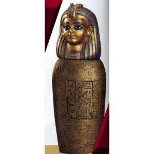 Large Egyptian Canopic Jar   Imsety   Statue Figurine