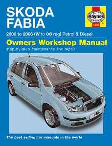 Skoda Fabia Petrol Diesel 00 06 Haynes Manual 4376 NEW
