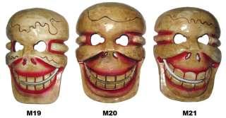 Skull Bone Skeleton MASK nepal tibet dia de los muertos