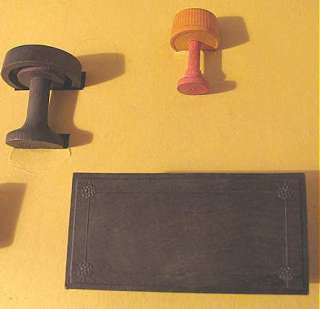 Vintage Embossing Co Toys that Teach Living Room DOLL HOUSE