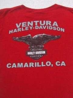 HARLEY DAVIDSON MOTORCYCLES camarillo SMALL T SHIRT