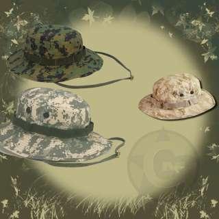 Boonie Hat Digital Camo ACU Woodland Desert XS XL NEW 613902582705