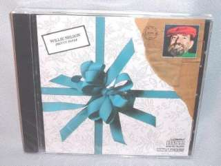 cd willie nelson pretty paper mint sealed new format cd artist willie