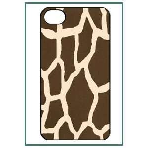 Giraffe Print Animal Cute Lovely Girl Girly Style iPhone 4