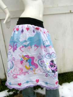 PONY Skirt shirt S L dress MLP FiM Princess Celestia Canterlot custom