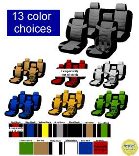 11 PIECE Superior CAR SEAT COVERS ( Most Popular) st7