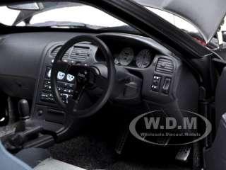 diecast model car of nissan skyline gt r r33 r tune matt black die