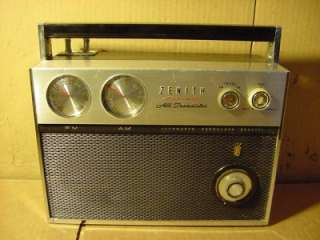 VINTAGE ZENITH FM AM ALL TRANSISTOR AUTO FREQUENCY CONTROL RADIO ROYAL