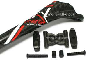175G Merek Carbon Road MTB Bike Seatpost 27.2mm x 350