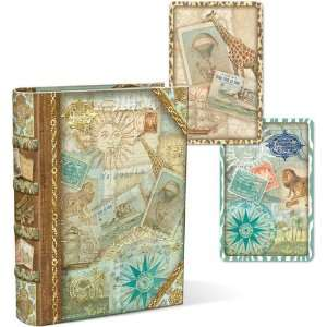 Safari Punch Studio Book Box with Playing Cards Arts