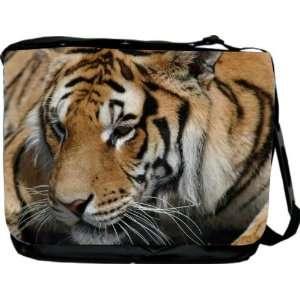 Rikki KnightTM Tigers Design Messenger Bag   Book Bag   Unisex   Ideal