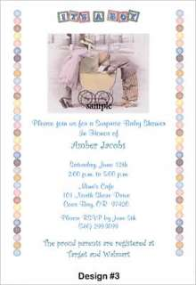 Kim Anderson Baby Shower Invitations Supplies Favors