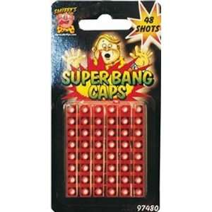 Smiffys Super Bang Caps 48 Shots Toys & Games