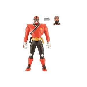 Power Rangers Samurai 16cm Switch Morphin Figure   Red