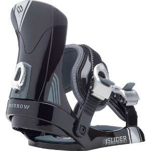 Morrow Slider Snowboard Bindings Youth Junior Kids Size 1 5 Black NEW