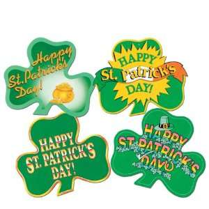 St Patricks Day Shamrock Cutouts Case Pack 264