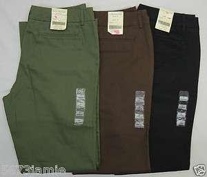 Missy Women Khaki, Chinos Olive Green, Brown,Black 3 pc.Lot MSRP $74