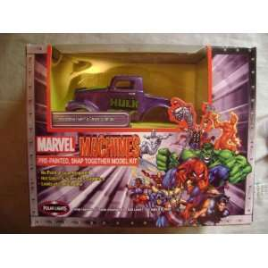 Machines Incredible Hulks Street Stomper Model Kit Toys & Games