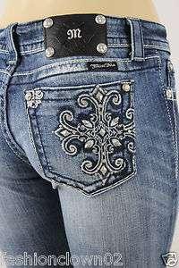 Miss Me Womens Jeans NWT JP5361T Boot Cut ,