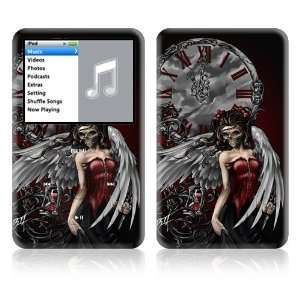 Apple iPod Classic Decal Vinyl Sticker Skin   Gothic Angel