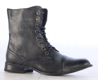 MENS MILITARY STYLE ARMY COMBAT LACE UP BOOTS SIZE All