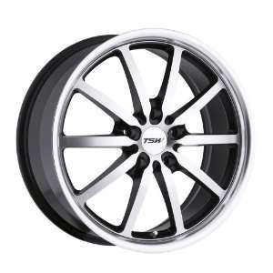 17x8 TSW Sepang (Matte Black w/ Brushed Machined Face & Lip) Wheels