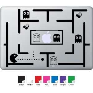 Pac Man Board Decal for Macbook, Air, Pro or Ipad