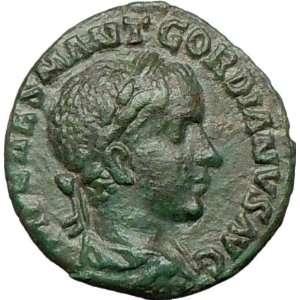 Viminacium Year 1 239AD Bull Lion Legions VII IIIIAncient Roman Coin