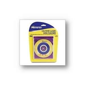 MEMOREX 32028003 6 Brush CD/DVD Laser Lens Cleaner: Electronics