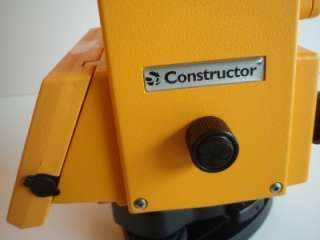 SPECTRA PRECISION CONSTRUCTOR TOTAL STATION SURVERY INSTRUMENT TRIMBLE