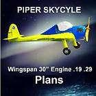 VINTAGE 1945 CONTROL LINE MODEL AIRPLANE PLANS & BUILDING NOTES