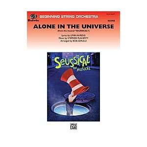 Alone in the Universe (from Seussical the Musical) (score