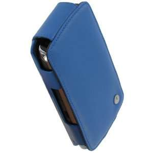 Noreve BlackBerry Storm 2 Leather Flip Case (Ocean Blue