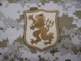 Navy SEAL Team 6 DEVGRU Gold Team Patch TAN mbss mlcs