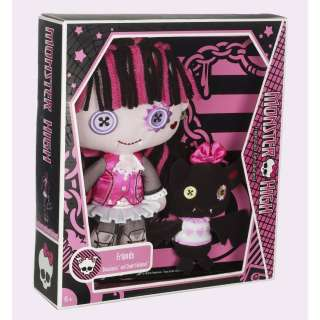 MONSTER HIGH FRIENDS DRACULAURA & COUNT FABULOUS PLUSH *NU*