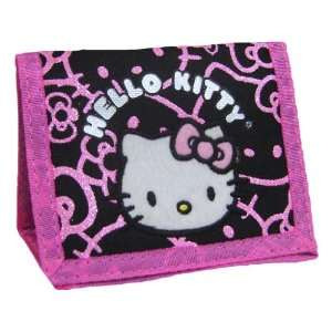 Cute Hello Kitty Black Wallet Toys & Games
