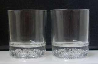 CROWN ROYAL Reserve TUMBLER GLASSES   Pair/Collectibles