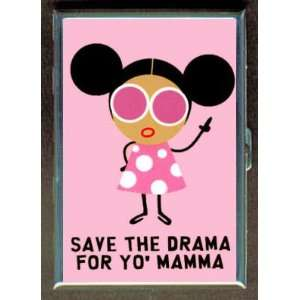 KL SAVE THE DRAMA FOR YO MAMA ID CREDIT CARD WALLET CIGARETTE CASE