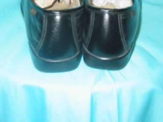 SAS WOMENS BLACK CASUAL OXFORDS SHOES SIZE 6.5 W
