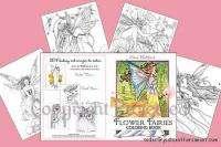 Flower Fairies Fairy Coloring Book Fantasy Art SB NEW