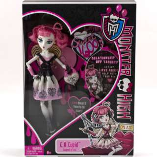 MONSTER HIGH Sweet 1600 C.A. CUPID Toy Doll Valentines Daughter of