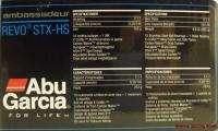 ABU GARCIA AMBASSADEUR REVO STX HS BAITCAST REEL 036282043831