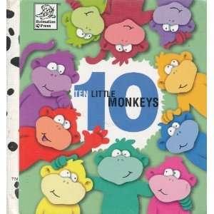 Ten Little Monkeys (9781577592181) Danny Brooks Dalby