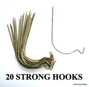 STRONG Hooks Picture Wall Hanging Art Decor Clock Mirror Hangers EASY