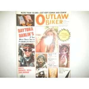 Outlaw Biker Magazine  Daytona Darlins July 1987: outlaw
