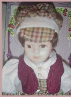 DANDEE GENUINE FINE BISQUE PORCELAIN PETITE BOY DOLL