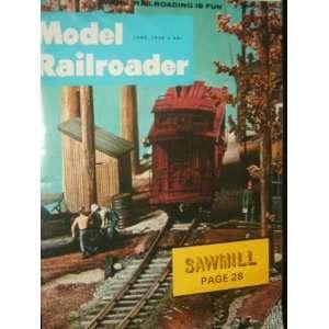 Model Railroader Magazine (June, 1968): staff: Books