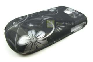 BLACK FLOWERS Hard Case Cover Samsung Dart Accessory