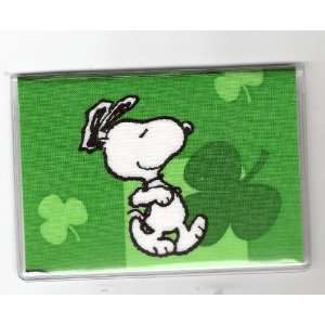 Debit Check Card Gift Card Drivers License Holder Peanuts Snoopy Lucky