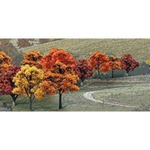 Scenics WS 1575 .75 in.   2 in. Fall Deciduous Trees: Toys & Games